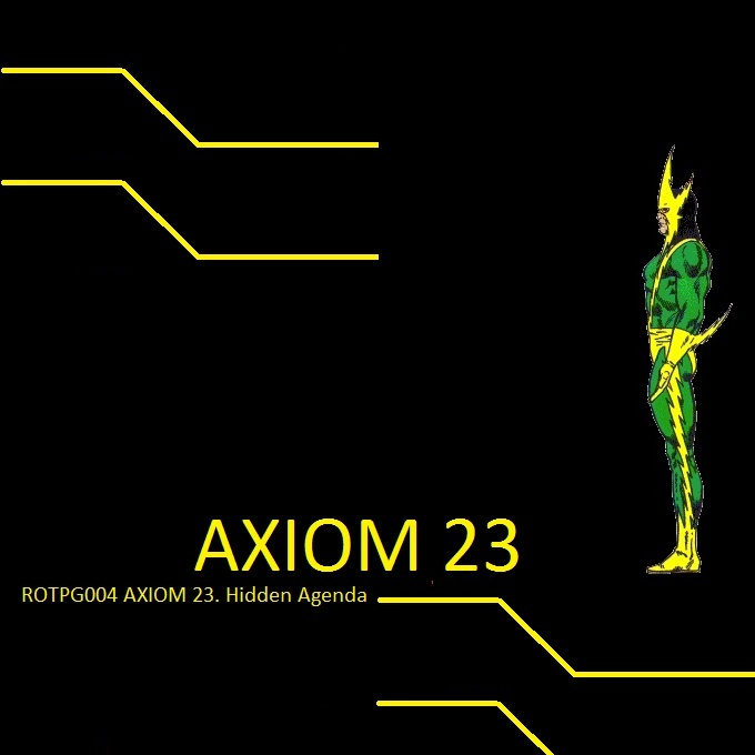 Axiom 23 – Blunted